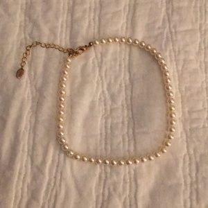 Small Faux Pearl Necklace